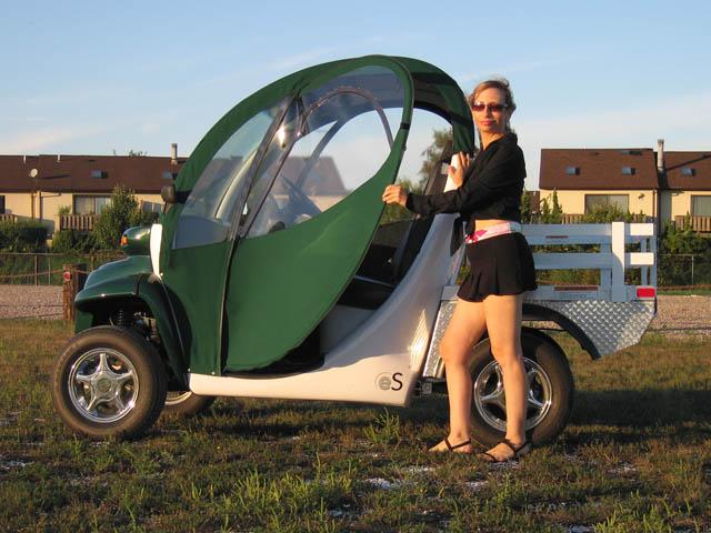 & GEM CAR DOORS - Stylish Soft Doors for the GEM Car